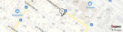 Обои Град на карте Геленджика