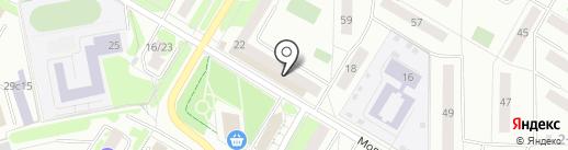 Адалит на карте Жуковского