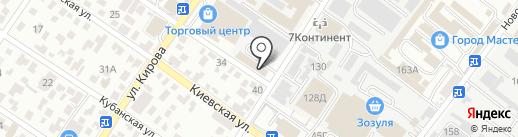 DS на карте Геленджика