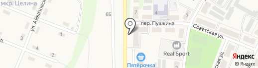 Наш магазин на карте Брусянского