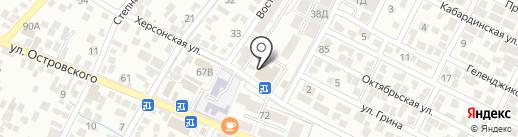 Д.А. group на карте Геленджика