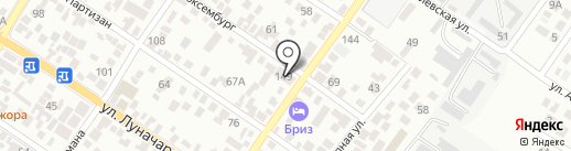 АнВаРус на карте Геленджика