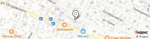 Херсонский на карте Геленджика