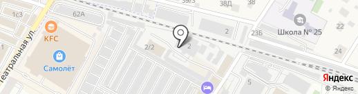 ВИСА-ГИНГЕР на карте Жуковского