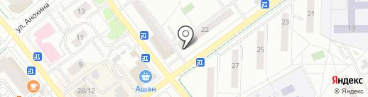 Центральная городская библиотека №1 на карте Жуковского