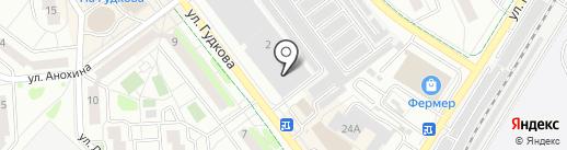 Вымпел-2 на карте Жуковского