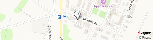 Администрация на карте Брусянского