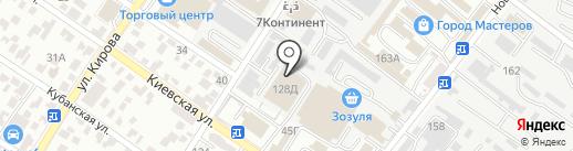 Сочинский мясокомбинат на карте Геленджика