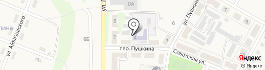 Детский сад №9 на карте Брусянского