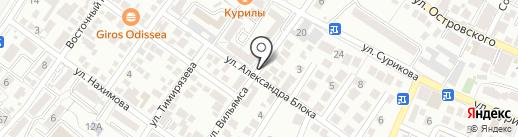 Магазин разливного пива на карте Геленджика