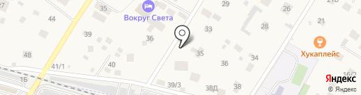 Авто-Ди на карте Ильинского