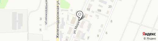 Магазин промтоваров на карте Брусянского