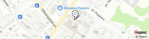 Магазин по продаже корейских салатов на карте Геленджика
