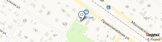 Транспорт-1 на карте Ильинского