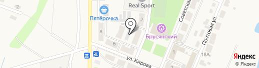 ЖЭУ №14 на карте Брусянского