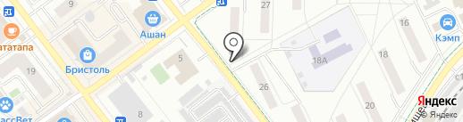 Стрела-2, ЖСК на карте Жуковского