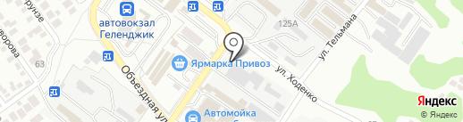 Краснодарэлектроспецмонтаж на карте Геленджика