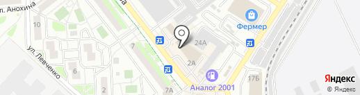 Белико на карте Жуковского