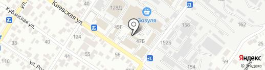 Игрушка на карте Геленджика