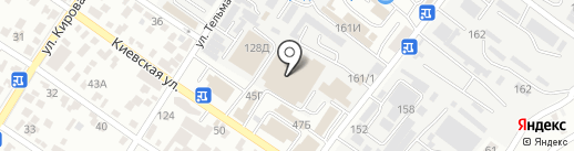 Вакула на карте Геленджика