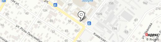 Пекарня на карте Геленджика