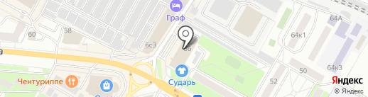 Седьмая карета на карте Жуковского