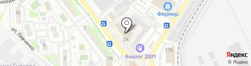 Кулон-Сервис-Газ на карте Жуковского