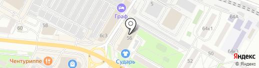 Адрес счастья на карте Жуковского