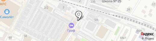 Subway на карте Жуковского