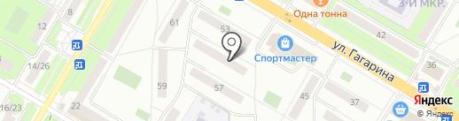 Стрела-6, ЖСК на карте Жуковского