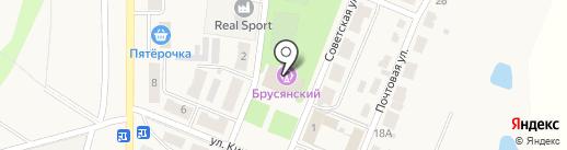 Многофункциональный центр предоставления государственных и муниципальных услуг на карте Брусянского