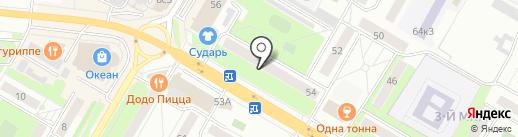Парикмахерская на карте Жуковского