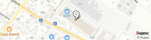 ОльМА на карте Геленджика