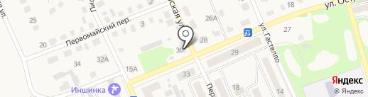 Ассортимент на карте Дубовки