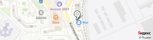 Женские штучки на карте Жуковского