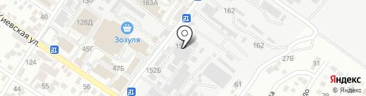 МИДАС на карте Геленджика