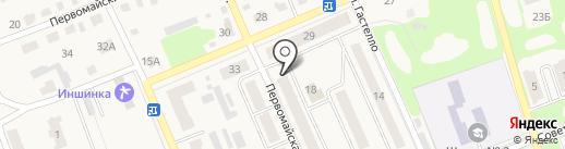 Непоседа на карте Дубовки