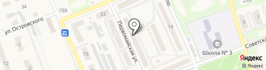 Пункт полиции Дубовский на карте Дубовки