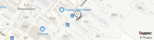 Геленджиктеплоэнерго на карте Геленджика