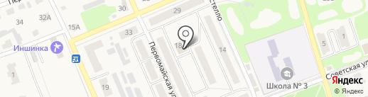 Банкомат, Минбанк, ПАО на карте Дубовки