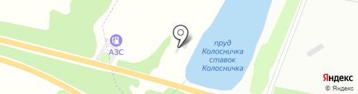 Колосничка на карте Харцызска