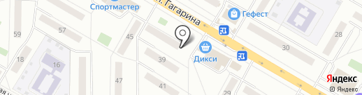 Специалист на карте Жуковского