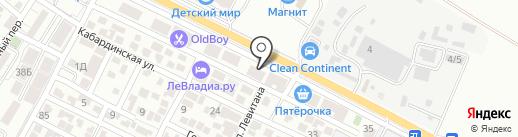 Партнер-Строй на карте Геленджика