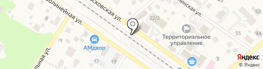 Первая полоса на карте Ильинского