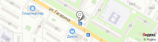 Золотая Корона на карте Жуковского