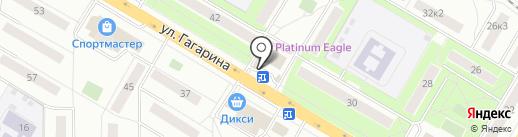 CyberPlat на карте Жуковского