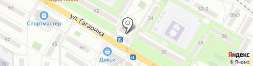 MOON на карте Жуковского