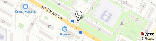 Еврострой на карте Жуковского