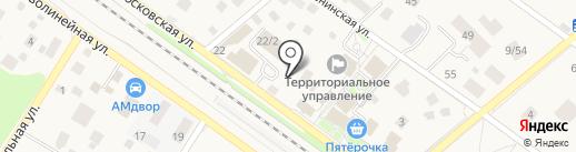 Камелия на карте Ильинского