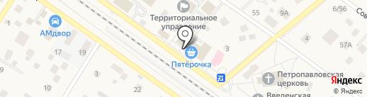 Сбербанк, ПАО на карте Ильинского